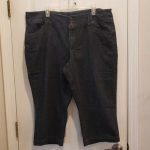 Dress Barn Denim Capris